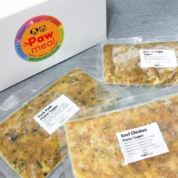 Pawmeal Try Fresh Dog Food Toppers