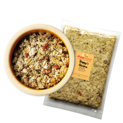Pawmeal Chicken Delight Pack And Bowl