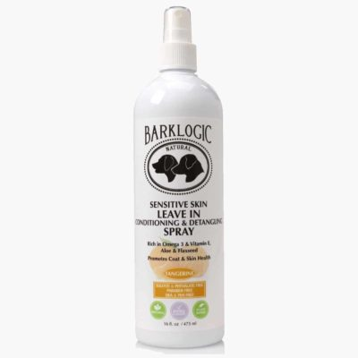 Sensitive Skin Leave In Conditioning & Detangling Spray Tangerine