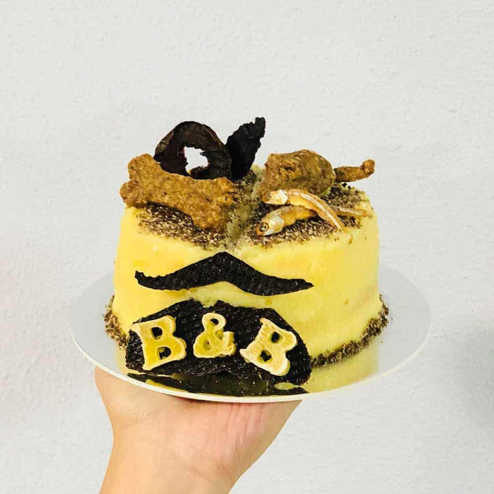 Pawmeal Barkday Cake