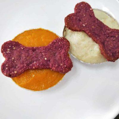 Pawmeal Pawp Cakes (Pupcakes)