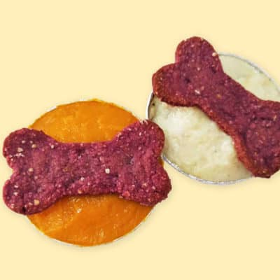 Pawmeal Meat Pawp Cakes (Pupcakes)