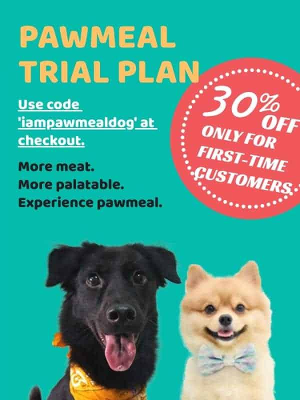 Pawmeal Trial Plan Banner