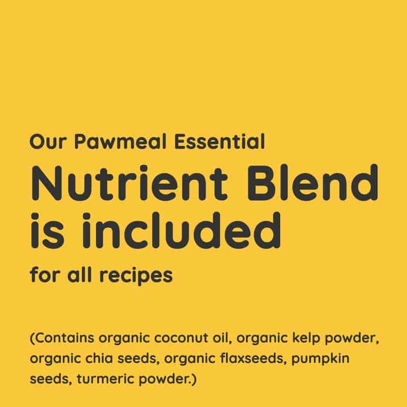 Pawmeal Homecooked Food Trial Plan Contains Essential Nutrient Blend for Dogs