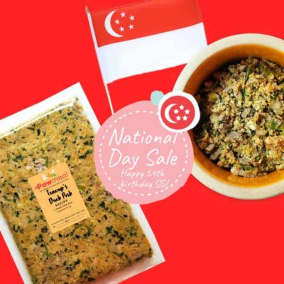 Happy 54th Birthday Singapore by Pawmeal