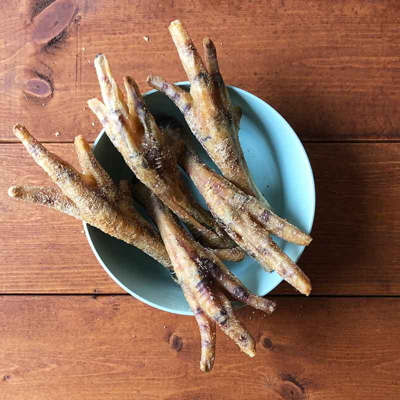 Pawmeal Chicken Feet With Ginger