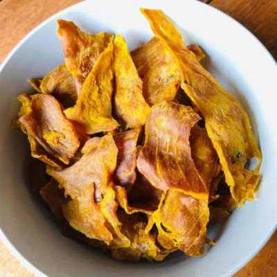 Pawmeal Pork Jerky With Turmeric And Basil