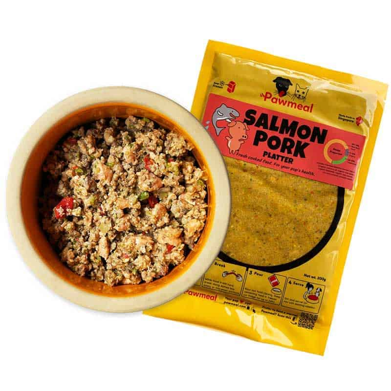 Pawmeal Salmon Pork Platter for Picky Dogs