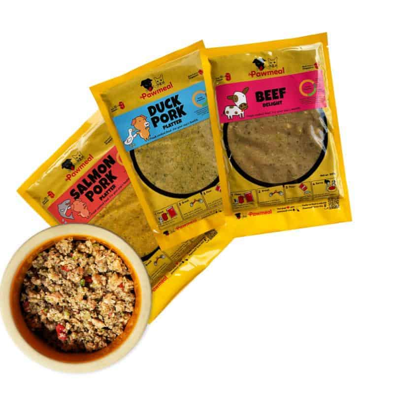Pawmeal Trial Plan Home Cooked Food for Dogs