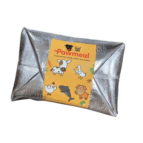 Pawmeal Delivery Packaging